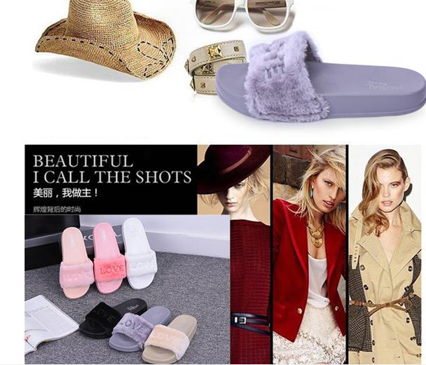 超柔女士毛绒一字鞋生产厂家,防滑耐磨毛绒拖鞋,防滑耐磨毛绒拖鞋批发