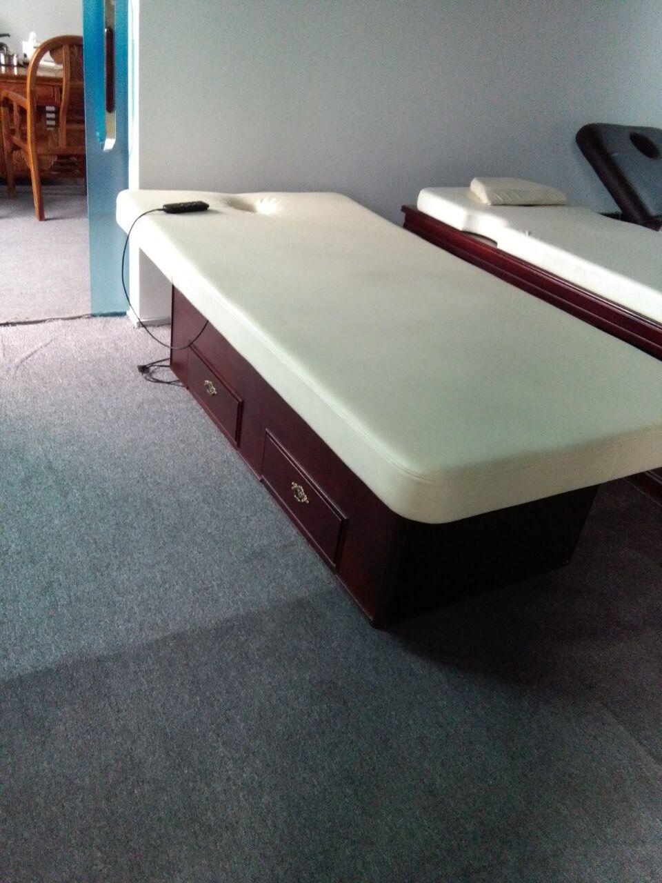 实木电动调节升降美容按摩床 三电机  实木电动床