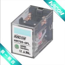 凯昆KACON继电器带LED灯HR705-4PL24VDC进口继电器图片
