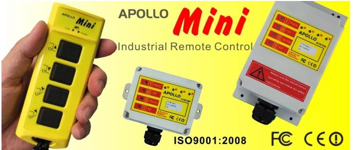 阿波羅mini 系列工业无线遥控mini 40/30/20C