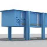 河南垂直式垃圾中转站设备厂家 地埋式垃圾压缩站设备厂家