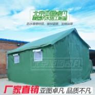 工地工程帆布棉帐篷图片