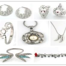 东莞美琳不锈钢饰品专业生产不锈钢戒指不锈钢项链项坠不锈钢手镯等图片