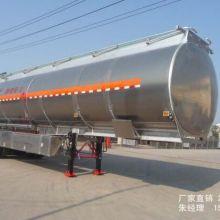 供应50立方铝合金油罐半挂车分期送车包上牌批发