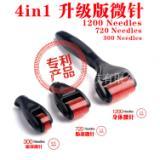 广州4合1微针工厂 厂家直销 外贸出口亚马逊热销滚轮微针 套装微针祛痘淡斑