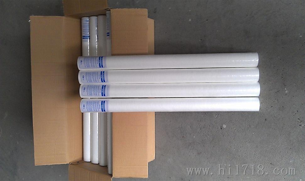 郑州厂家直销40寸pp熔喷滤芯  PP棉滤芯 40寸保安过滤器滤芯