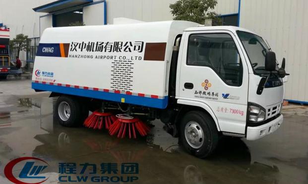 五十铃扫路车|5吨扫路车