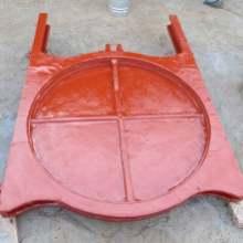 河北ZMQY型墙式镶铜铸铁圆闸门厂家墙体镶铜铸铁圆闸门价格批发