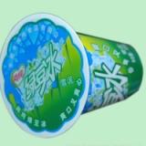 广东绿豆冰沙杯盖膜 PE塑料杯盖膜 绿豆沙珍珠奶茶封口膜 一次性PP杯封口膜