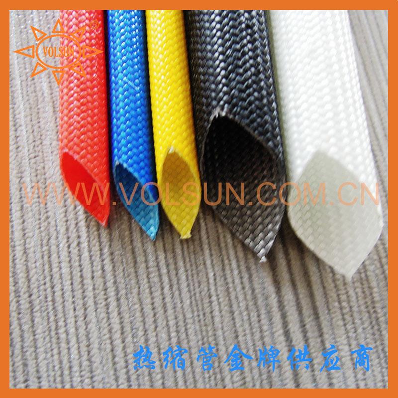 2kv/1.5kv/2.5kv/4kv硅树脂玻璃纤维套管 玻纤管