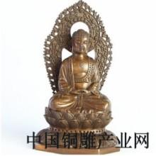 厂家定做大型家居饰品铜雕工艺品摆件,铜佛像采购厂家图片
