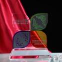 企业年度表彰会纪念品水晶奖杯奖牌图片