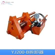 山东YJ100-B拆卸器 手动液压履带销拆卸器 液压电动履带销拆卸器