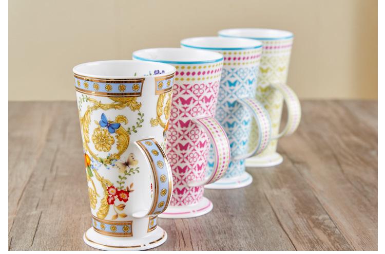 英式骨瓷咖啡杯陶瓷果汁杯销售