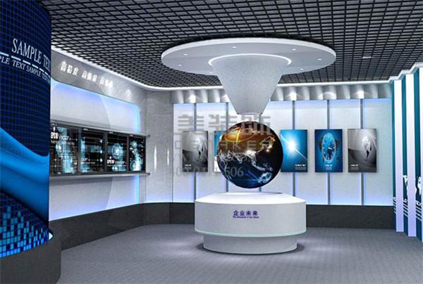 出口企业展厅策划设计公司