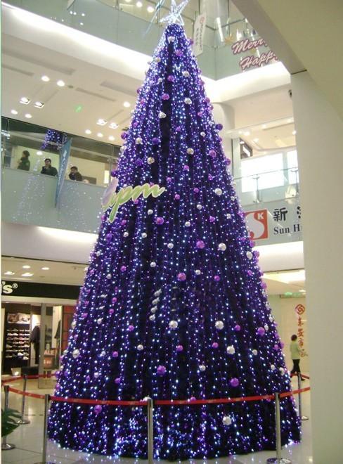 大型圣诞树安装 北京圣诞树厂家 北京圣诞节装饰 圣诞节灯光造型