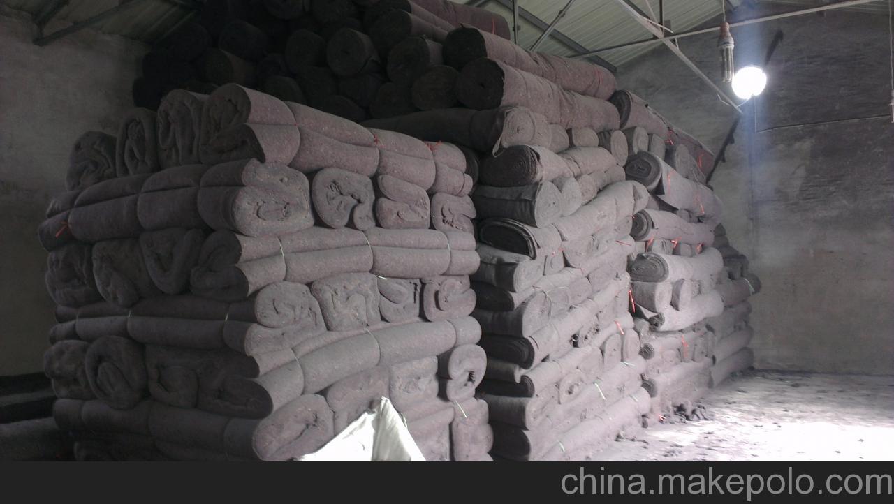 乌鲁木齐黑棉毡厂家大量现货出售  乌鲁木齐杂色棉毡大量现货出售