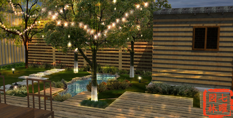 住宅庭院景观设计与施工