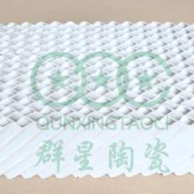 活性陶瓷波纹填料100Y群星陶瓷批发