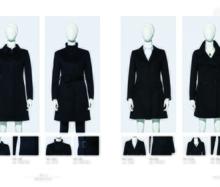 南昌羊绒呢子大衣高级定制职业装男女新款大衣图片