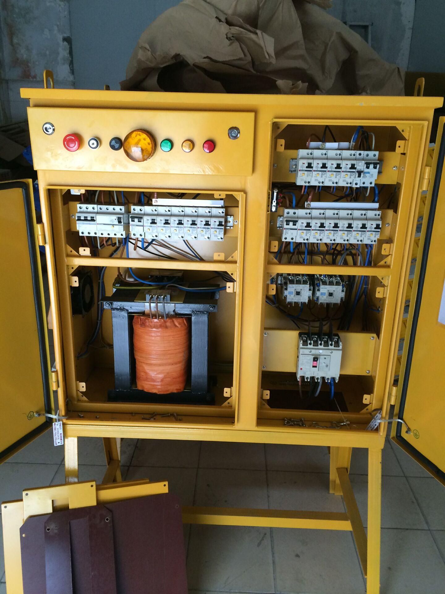 工地一级配电箱接线实物图