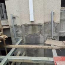 石家庄彩铝落水系统方形雨水管成品金属檐沟PVC雨水槽批发