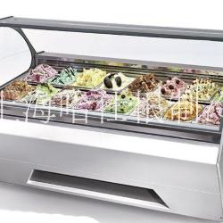 圆桶冰淇淋展示柜 硬冰淇淋櫃