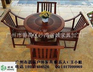 户外餐桌椅图片