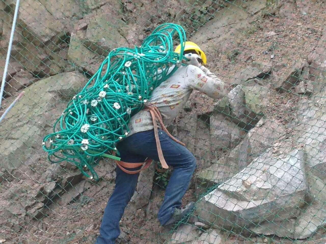 河北臣运丝网专业供应  rxi-75环形网价格  rx-025被动防护网 被动防护网厂家