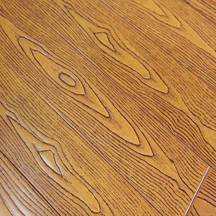 鼎鑫橡木实木地板批发橡木地板仿古耐磨黄金海岸厂家直销