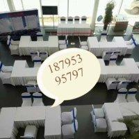 银川 贵宾椅、宴会椅、折叠椅、桌子出租银川玻璃圆桌、洽谈桌、吧桌吧椅、隔离带、长条桌、桁架出租