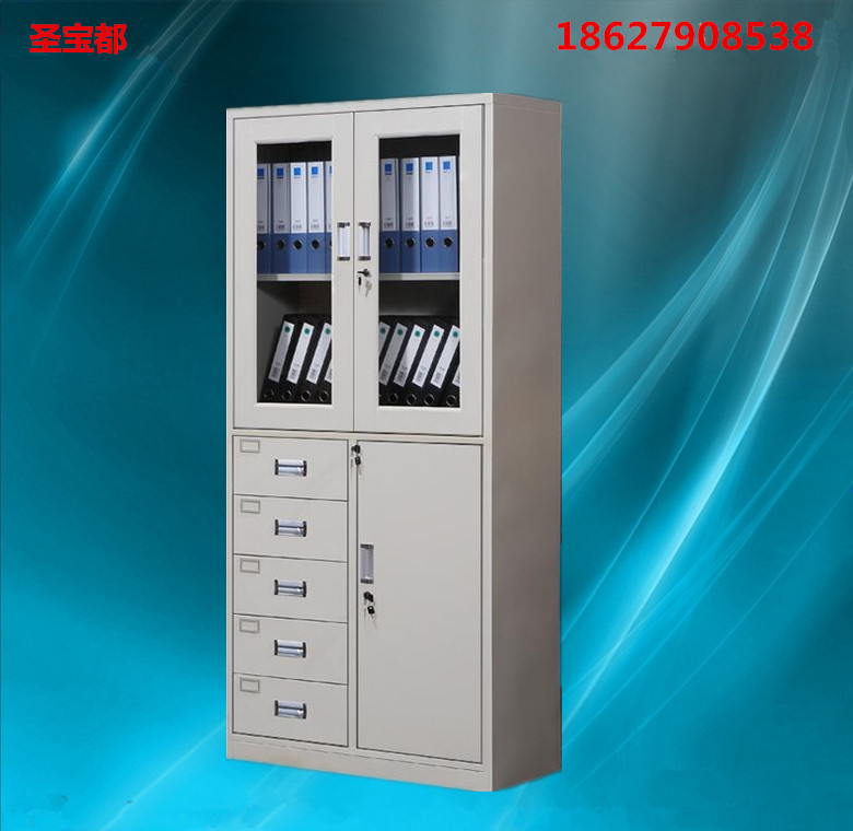 武汉文件柜铁皮柜偏五斗器械柜更衣柜电子存包柜保险柜密集架书架
