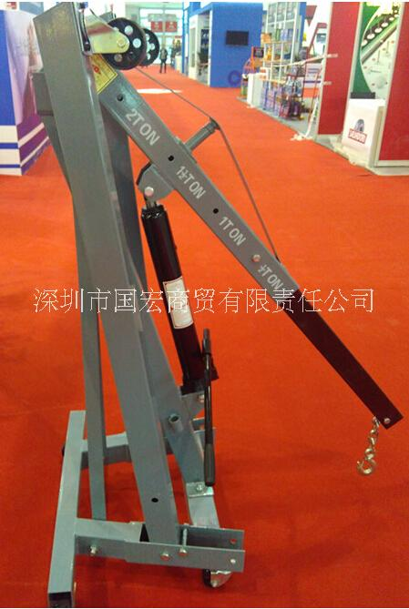 2吨手动液压吊车液压吊架折叠吊机吊车厂家直销