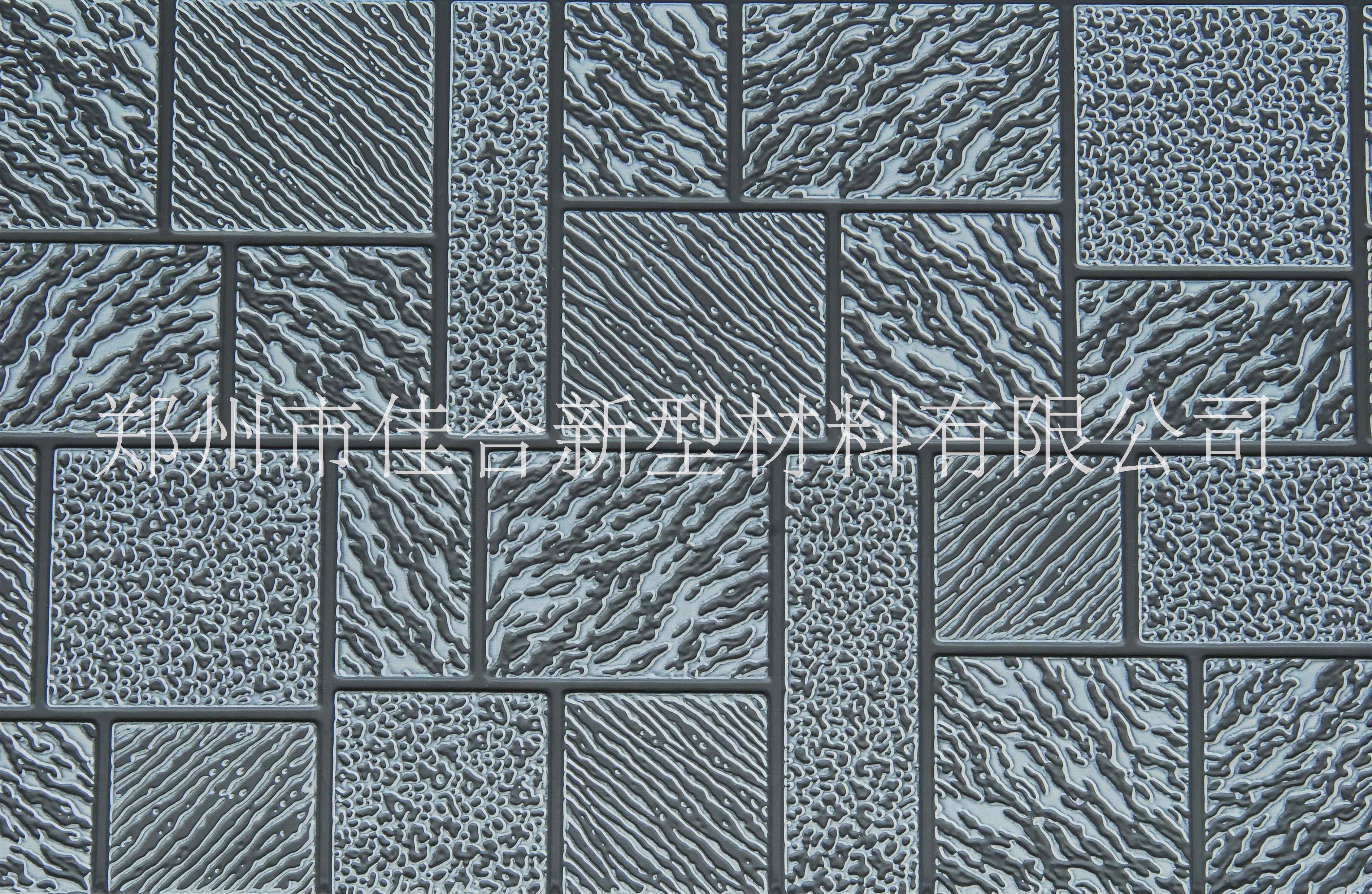 河南厂家直销金属雕花板墙体保温装饰一体板383*16mm长度定制