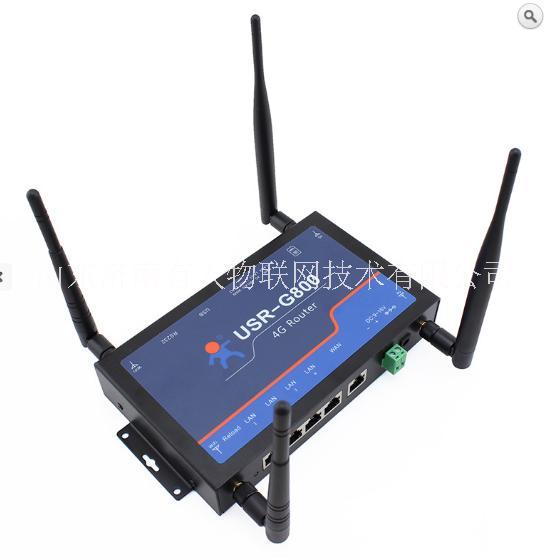 3G/4G工业级无线路由器  VPN 移动联通电信三网 4G路由器 USR-G800