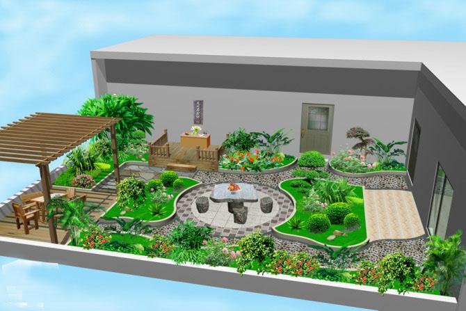 菜园美成了花园,长见识了!【设计联·1276期】图片