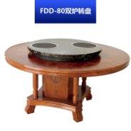 FDD-80双炉转盘 家具转盘餐桌玻璃转盘|钢化圆桌可配电动底座玻璃圆转盘