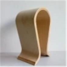 进口胡桃木耳机架,美式家具扶手加工,多层弯板,造型美观图片