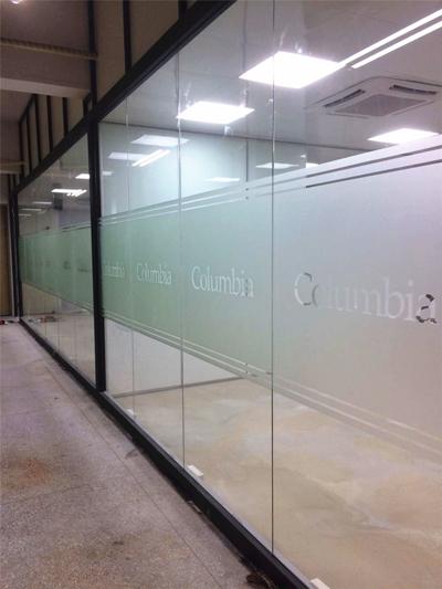 玻璃隔断  YGS-Wall-单玻隔断 广州办公室装修