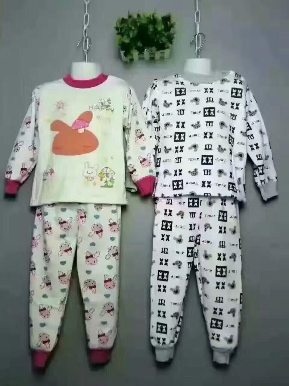 超柔保暖套装  儿童纯棉保暖套装  儿童保暖套装新款