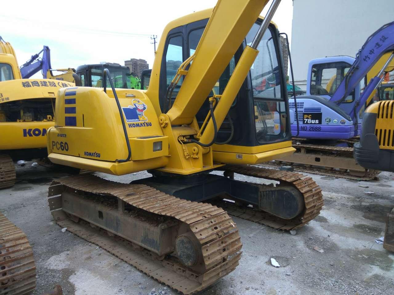 12万出售小松60挖掘机 整车原装 二手挖掘机市场 二手挖掘机价格