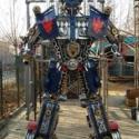 大型变形金刚变形模型金刚御天敌二代汽车机器人威将 高度三米