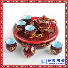 中国红茶具套装,茶具礼品套装,陶瓷礼品茶具,功夫陶瓷茶具图片