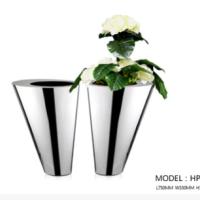 厂家定制不锈钢中高端花盆   中高端花盆价格 中高端花盆批发  供应商中高端花盆