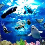 锌钢背景墙3D系列动物风格图片