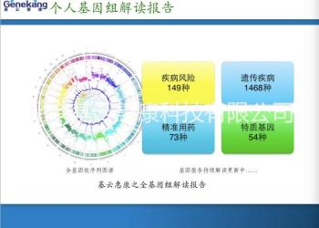 基云惠康基因数据分析基因APP图片