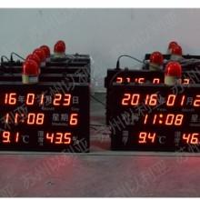 万年历温湿度看板/带报警温湿度看板/噪音扬尘风速风向/工地专用批发
