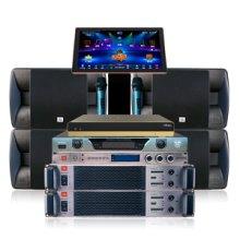 JBL至尊KTV卡拉OK套装音响JBL RM101 RMA3300家庭KTV音响音箱套装卡拉ok点歌机家庭影院11件套