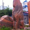 南阳南召风景石图片