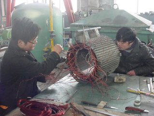 广州同步电机故障维修现场修理上门服务